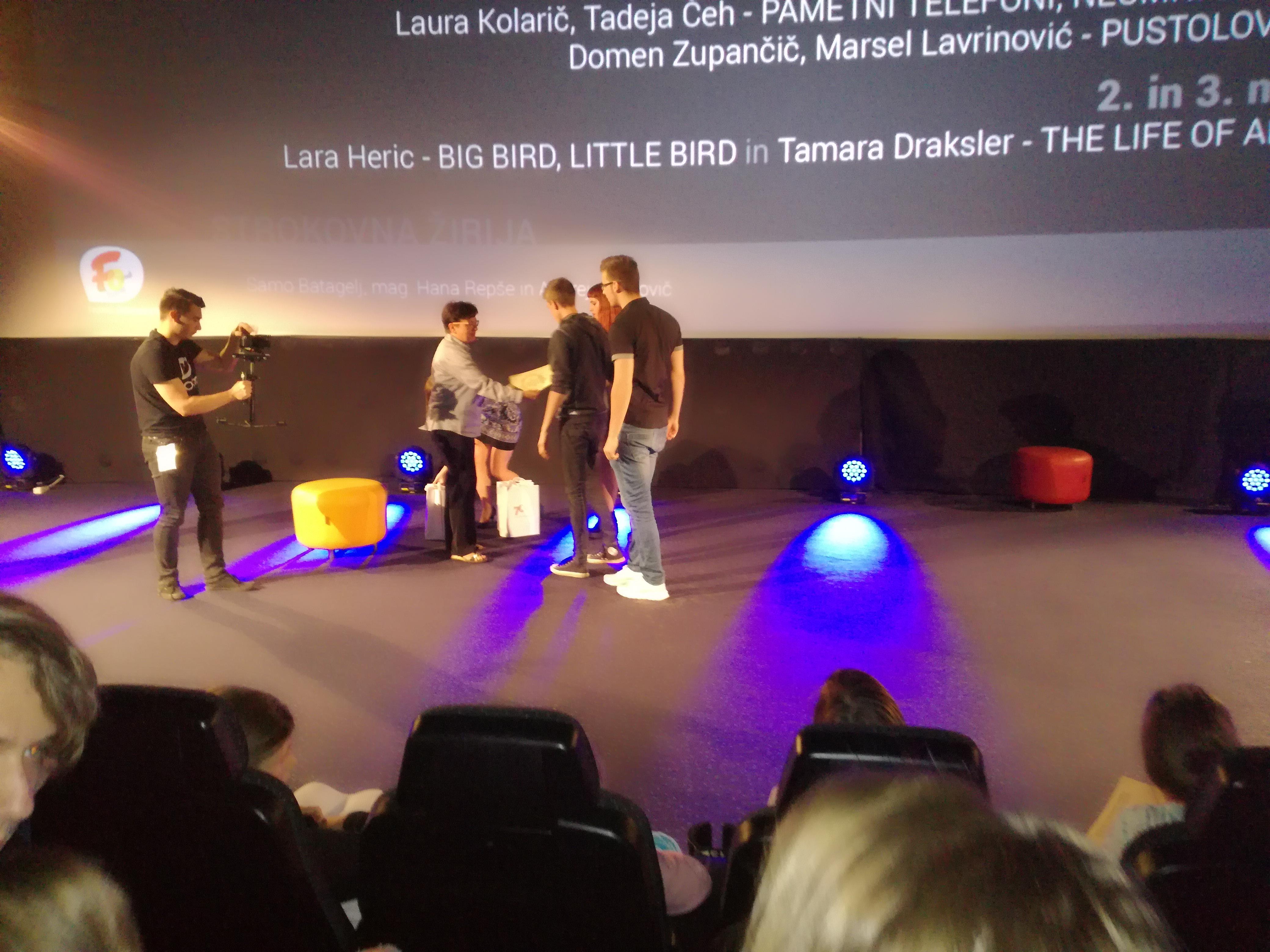 Osvojili 1. mesto na Festivalu oblikovanja Maribor