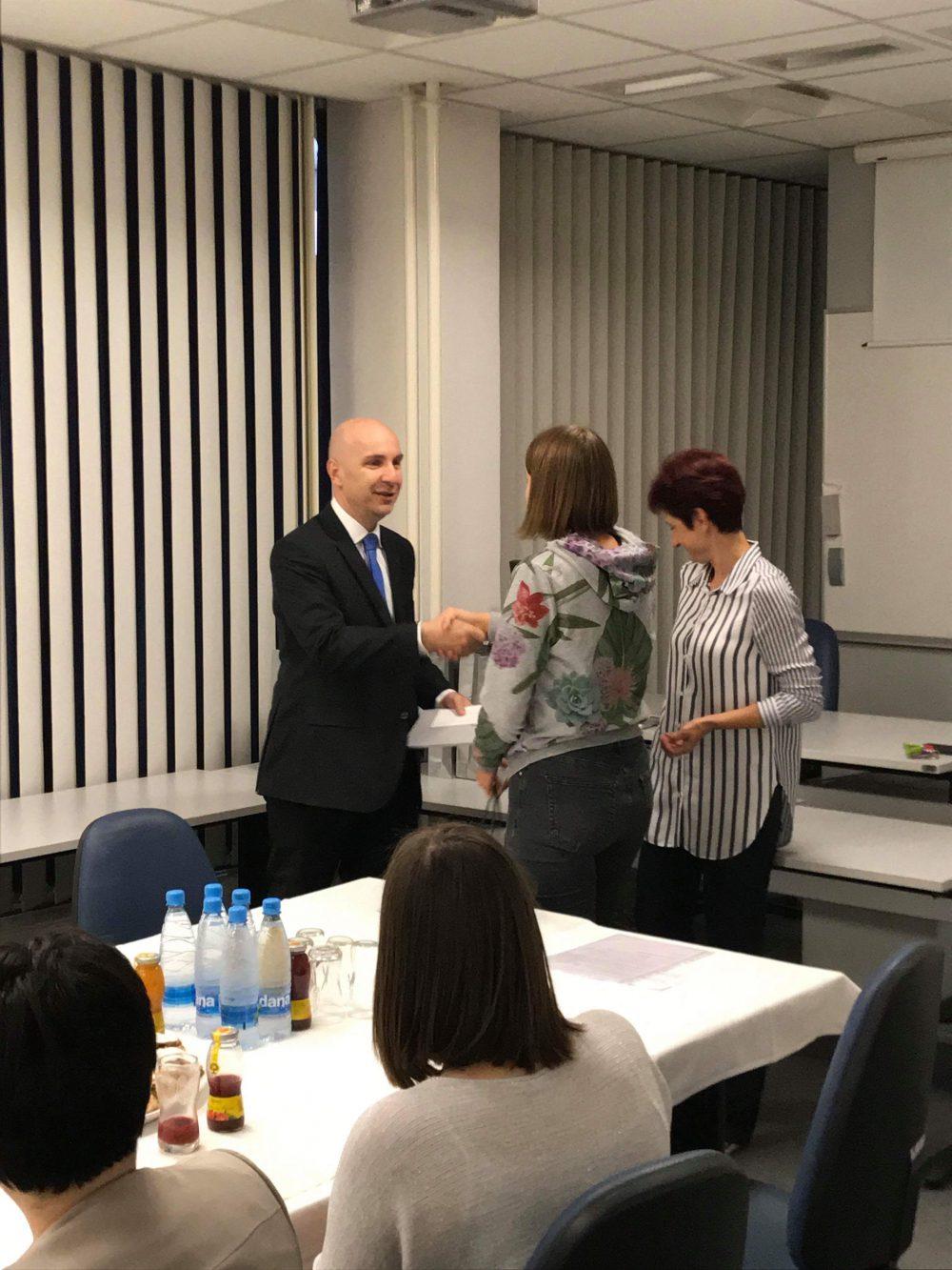 Prejeli nagrado Zveze računovodij, finančnikov in revizorjev Slovenije