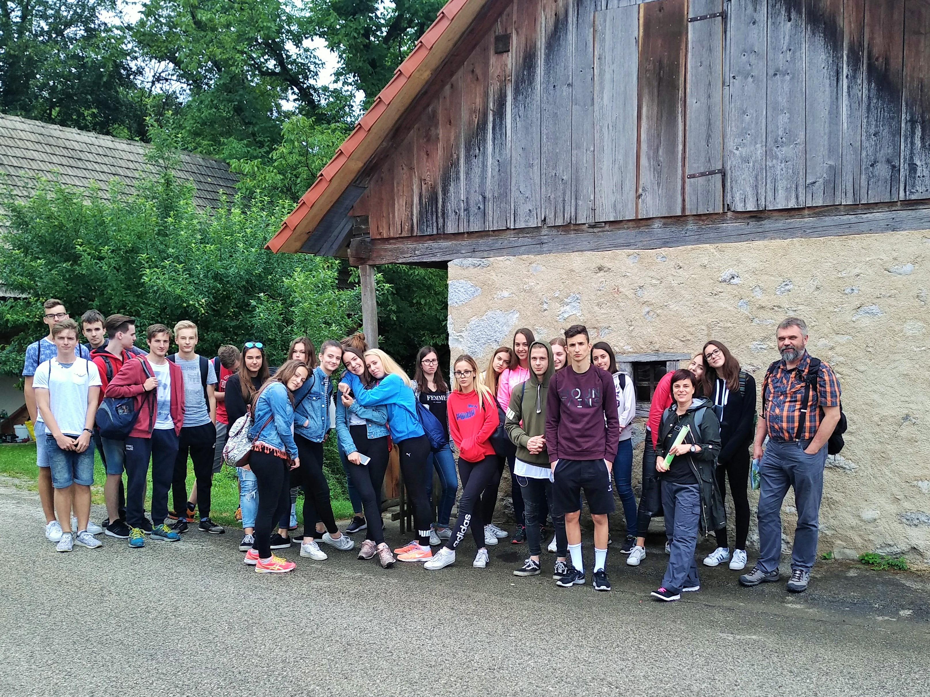 Ekskurzija Krajinski park Lahinja in Aquatika Karlovec