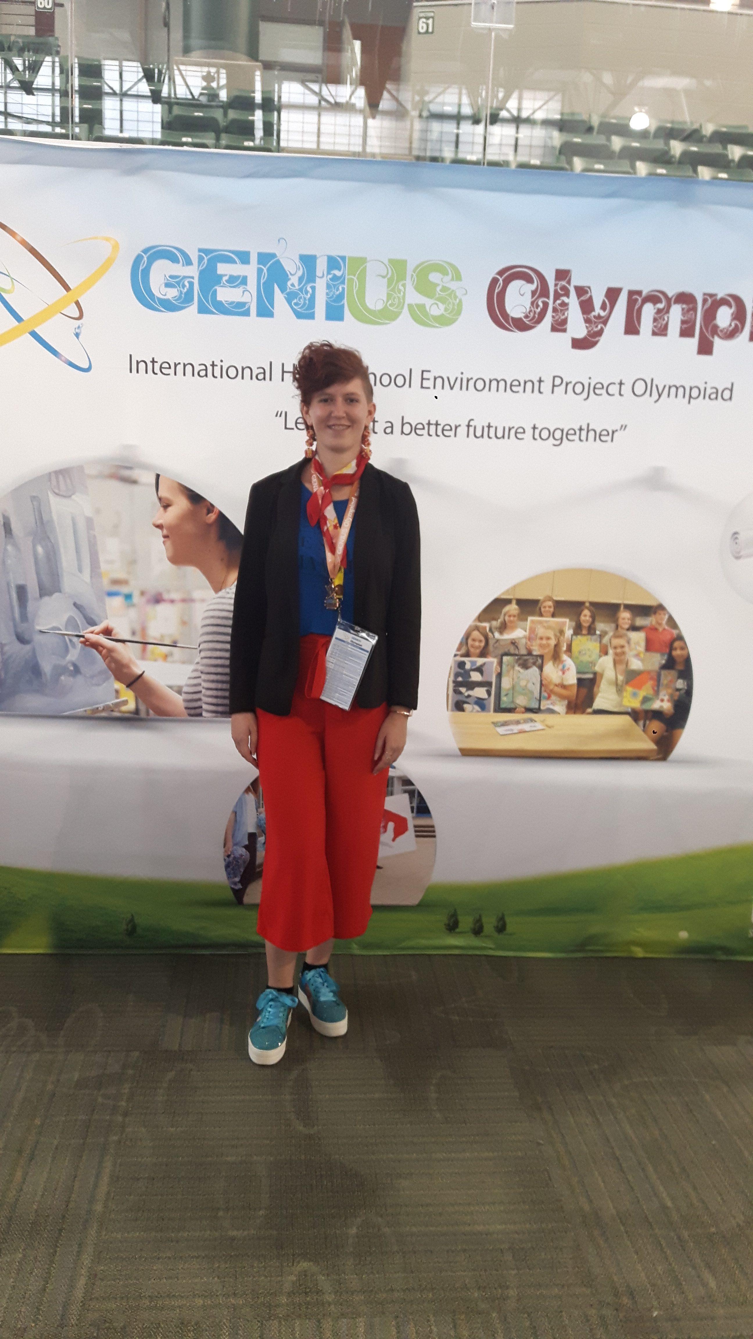 Lejla Majkić bronasta na Genius Olymipad v Oswegu v ZDA
