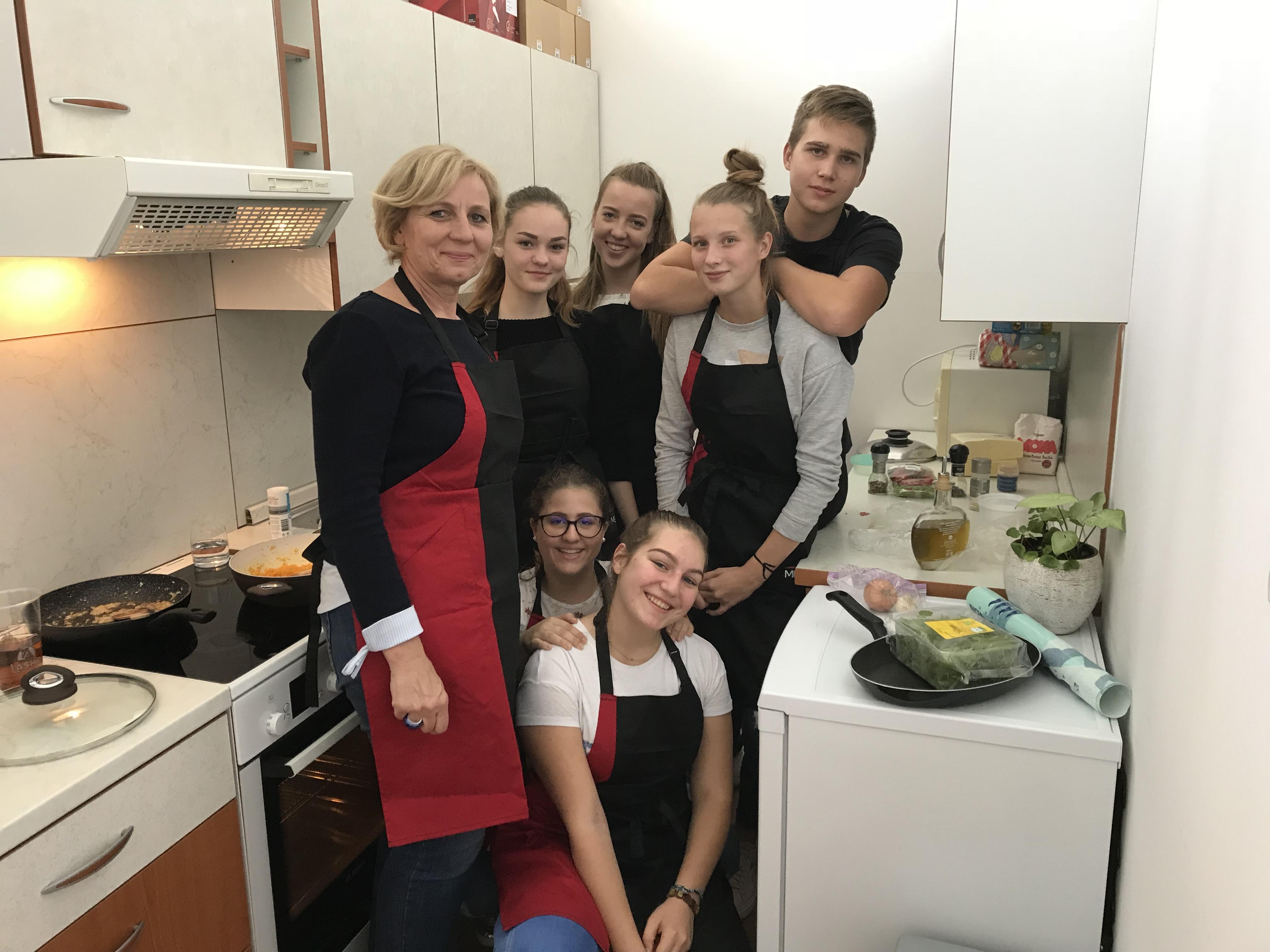Kulinarično popoldne dijakov 3.b