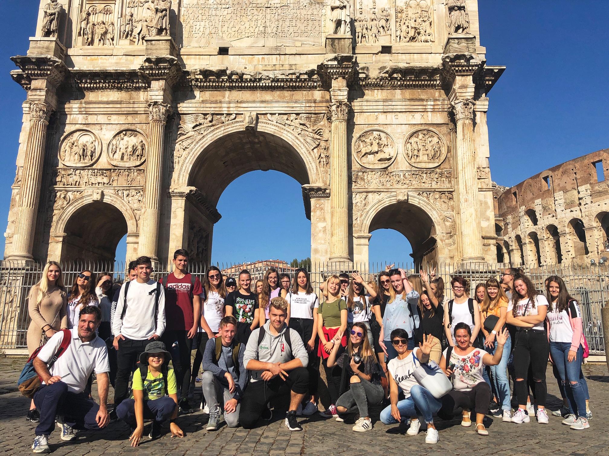 Ekskurzija v večno mesto – Rim