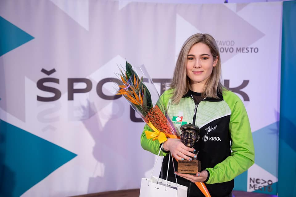 Aleksandra Vovk-športnica leta 2019